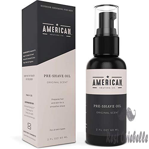 American Shaving Pre Shave Oil