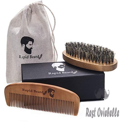 Beard Brush and Beard Comb