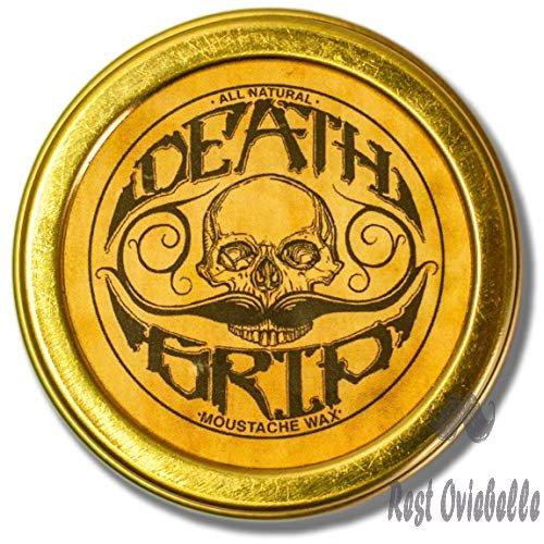 Death Grip Mustache Wax Strong
