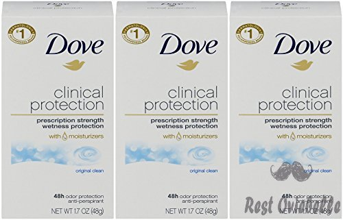 Dove Clinical Protection Antiperspirant Deodorant,