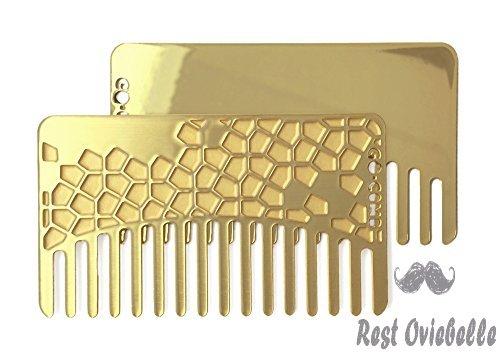 Go-Comb + Mirror - Brass