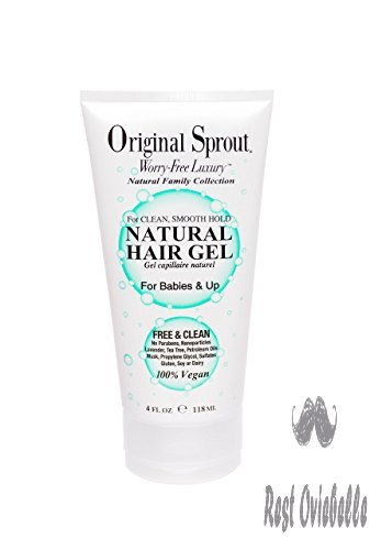 Original Sprout Natural Hair Gel.