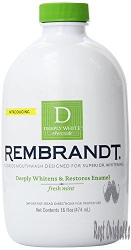 Rembrandt Deeply White Whitening Mouthwash