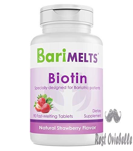 BariMelts Biotin, Dissolvable Bariatric Vitamins,