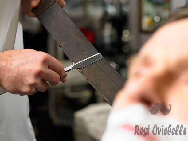 how to sharpen a straight razor