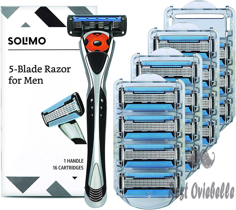 Amazon Brand - Solimo 5-Blade