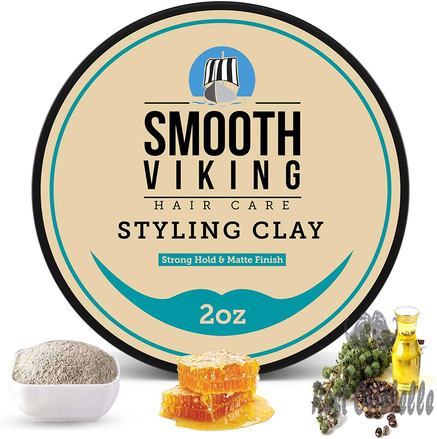 Smooth Viking Hair Clay for
