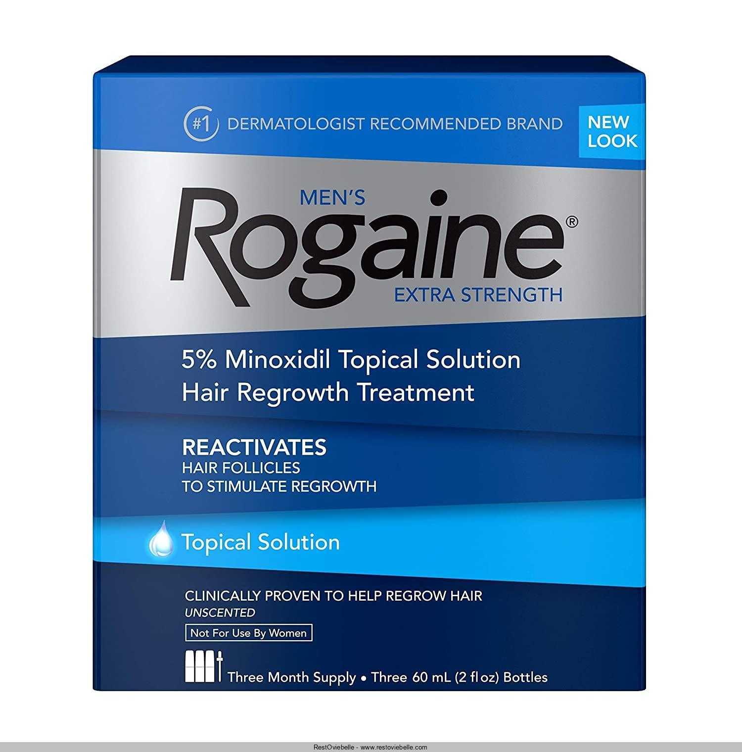 Men's Rogaine Extra Strength 5%