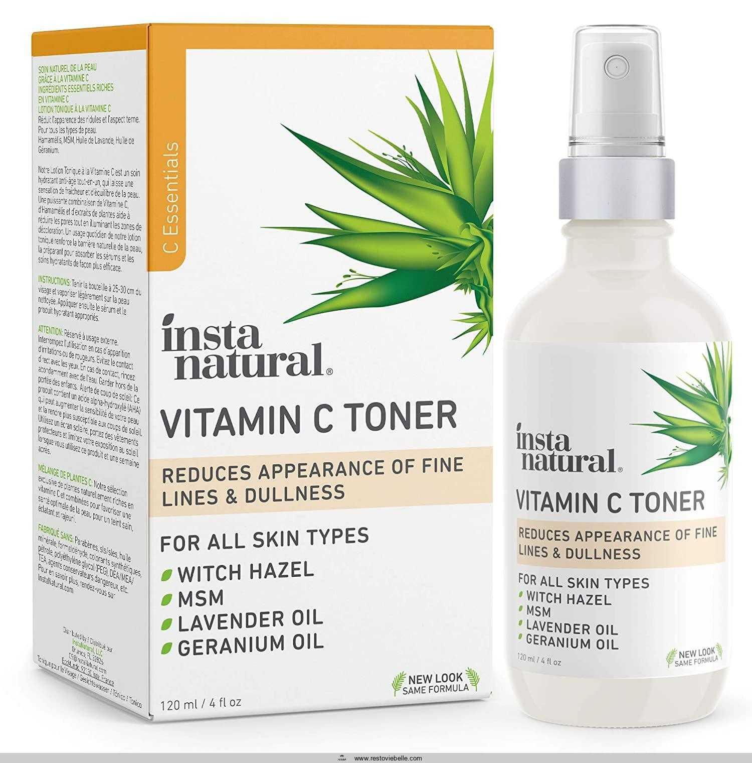 InstaNatural Vitamin C Facial Toner
