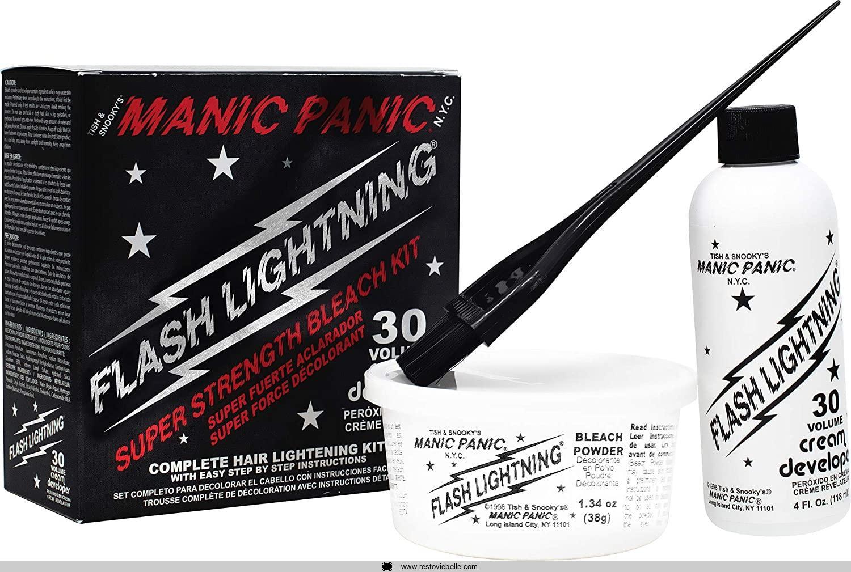 MANIC PANIC Flash Lightning Hair