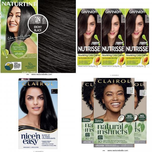 5 Best Black Hair Dyes (Permanent, Semi-permanent) of 2021